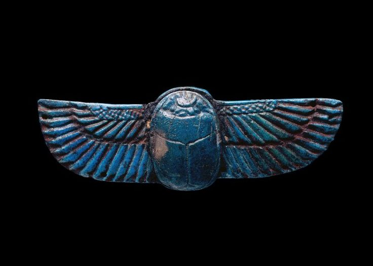Scarab 600 BC 26th Dynasty (Source: The British Museum)