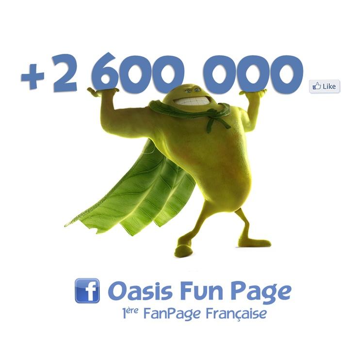 Rendez-vous sur notre page Facebook : http://www.facebook.com/oasisbefruit