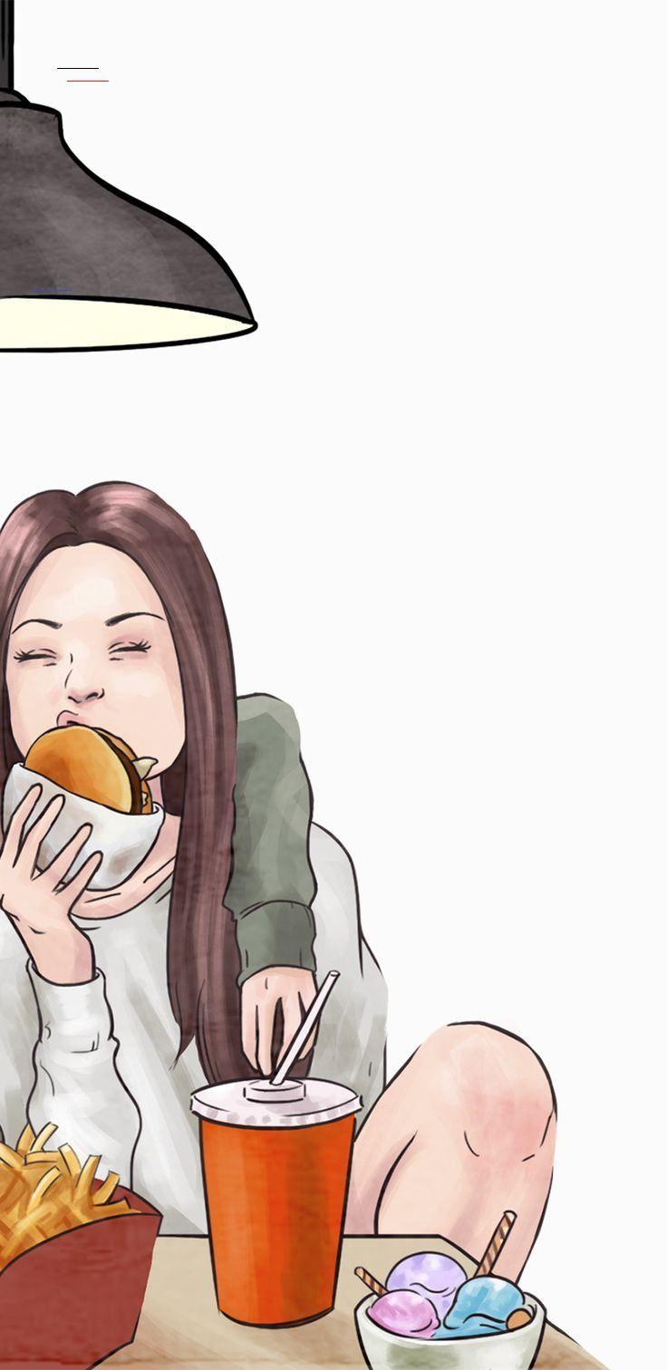Keep Your Friends Close But The Friends That Eat Junk Food With You Even Closer Bff Girls B In 2020 Best Friend Wallpaper Best Friends Cartoon Friendship Wallpaper