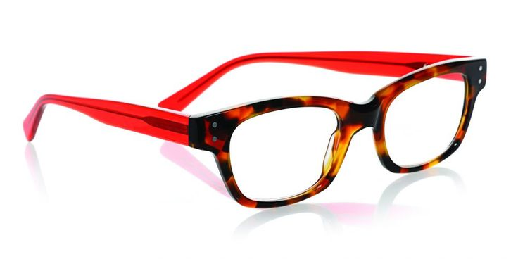 eyebobs Fizz Ed reading glasses in: an updated shape in classic tortoise helps balance a round face.