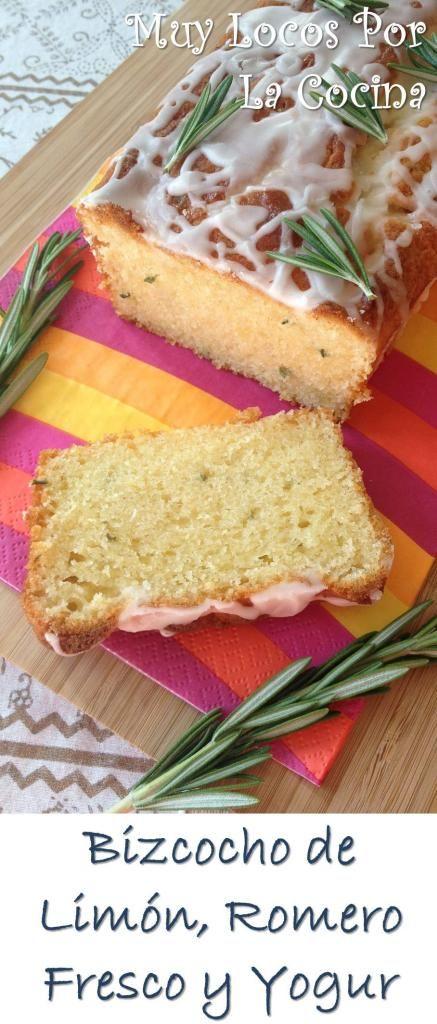 Bizcocho de Limón, Romero Fresco y Yogur: Un sabor intenso a limón con el toque refrescante y aromático del romero fresco y la suavidad del yogur.