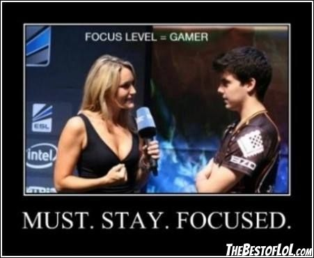 Stay focused xPeke!