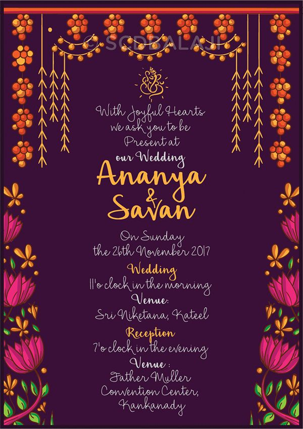 Indian Brides And Grooms Wedding Invitation Designs On Behance Fun Wedding Invitations Indian Wedding Invitation Cards Indian Wedding Invitations