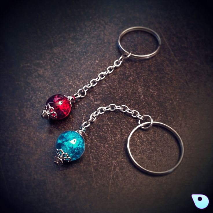 Potion Keychain Geek Keychain Mana Potion Health Potion Friendship Keychain League of Legends Gift for women Potion Key-ring Gamer (8.95 CAD) by CervelleDoiseau