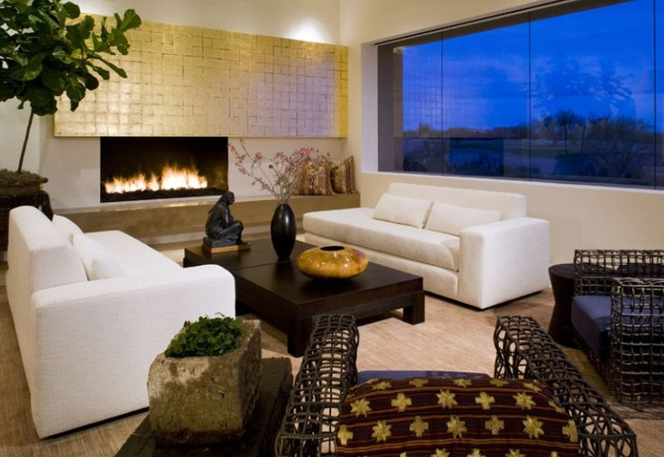 Fireplace Contemporary Homes Pinterest