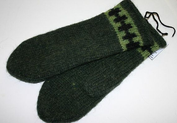 Made to Order  Unisex Felted Icelandic Wool Mittens  by Maggadora
