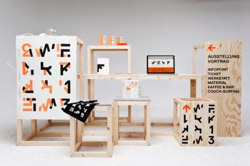 Branding for student exhibition Werkkonferenz... | Art & Design of the World | Nae-Design Blog