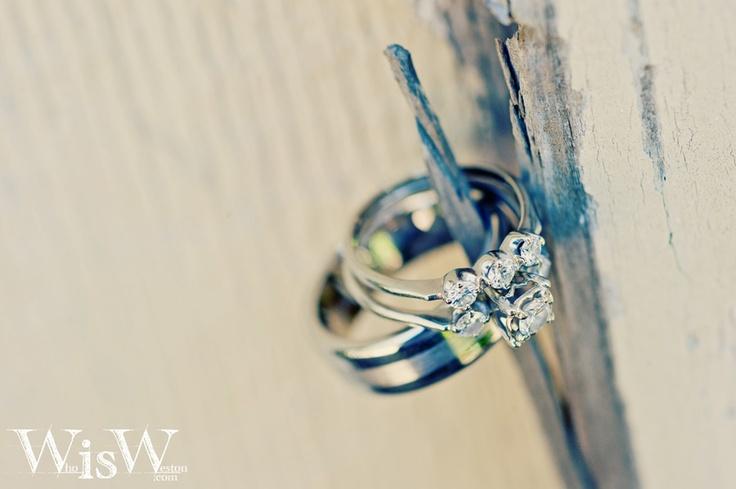 Wedding Rings taken on wedding day #Wedding #Ring