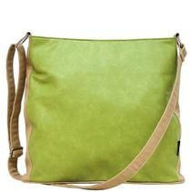 Apple Green Soft feel leather look adjustable strap Handbag - Shop now - http://shop.mylookinstyle.com/catherine-manuell-apple-green/
