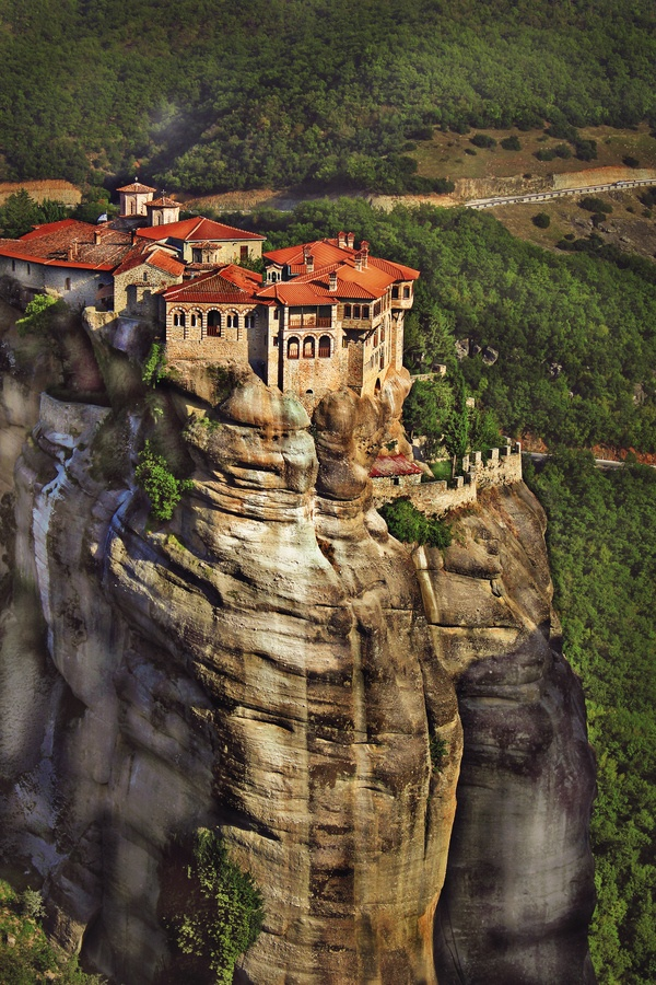 Meteora, Greece - this is one that I have visited, and would go again in a heartbeat