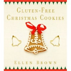 GF Christmas Cookies by Ellen Brown- $15 on Amazon. So far, every recipe has been out of this world amazing (like the pecan pie bars.. which I should post). SOOOOO good even the non gf-er's will love it!! And no need for pre blend flour, as they give you each amount you need per recipe.