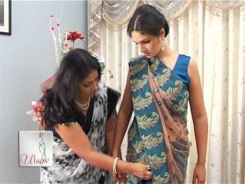 Mermaid Style of Saree Draping