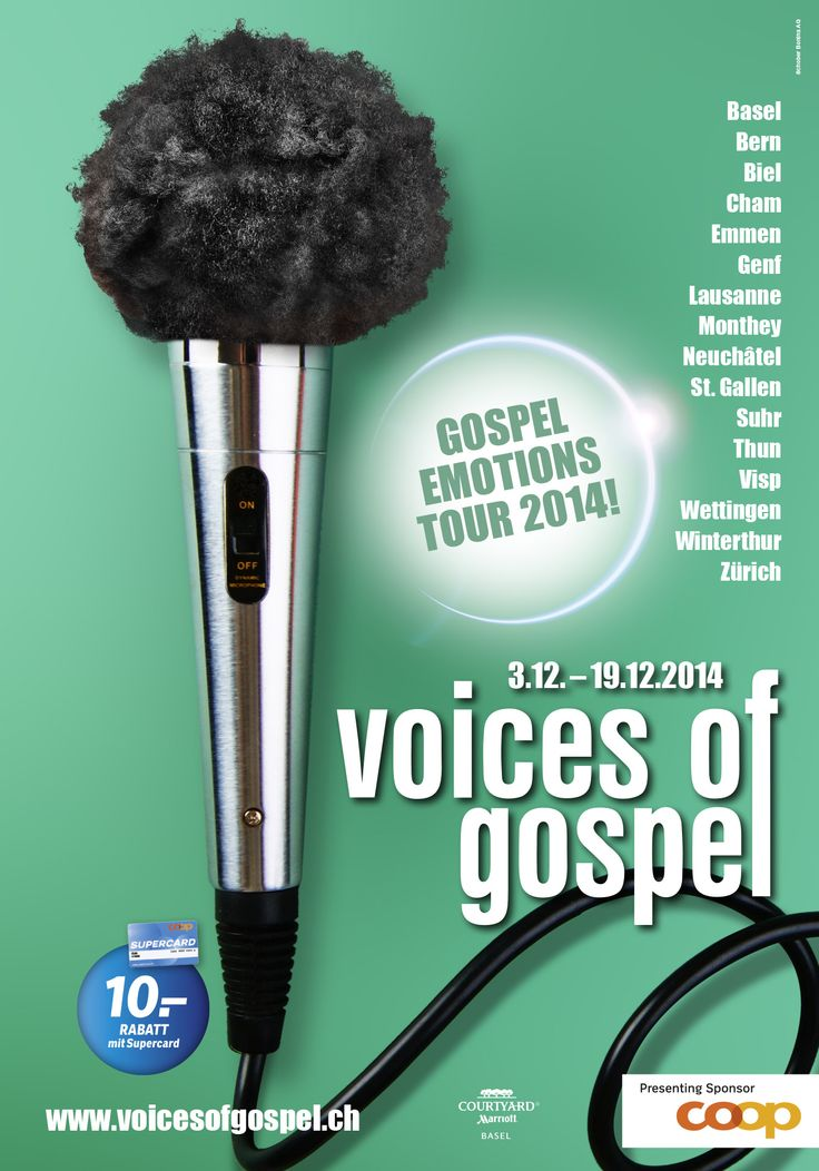 Plakat Gospel