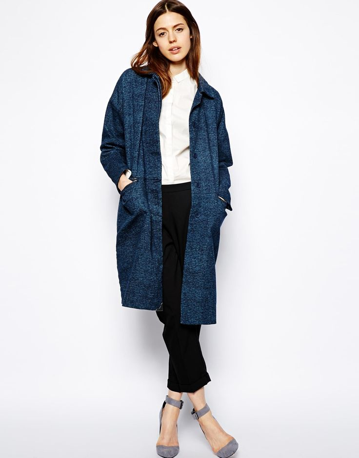 Creative? Artist? Smart Casual? This very relaxed ASOS Denim Duster Coat - that's right denim, is your go-to.