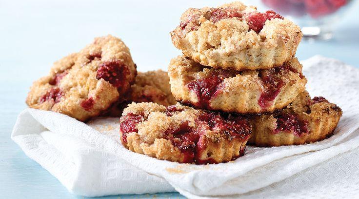 Tre Stelle Ricotta and Fresh Raspberry Scones #dessert #recipe #scones