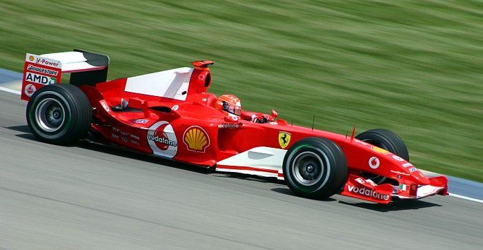 Michael Schumacher Ferrari 2004 - Flou cinétique — Wikipédia