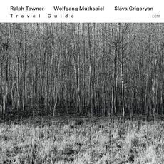 """RALPH TOWNER/ WOLFGANG MUTHSPIEL & SLAVA GRIGORYAN: """" travel guide """" ( ecm/universal) jazzman 655 p.80 4* personnel: Ralph Towner: classical and 12-string guitars; Wolfgang Muthspiel: electric guitar; Slava Grigoryan: classical and baritone guitars. http://www.qobuz.com/album/travel-guide-ralph-towner/0060253752773"""
