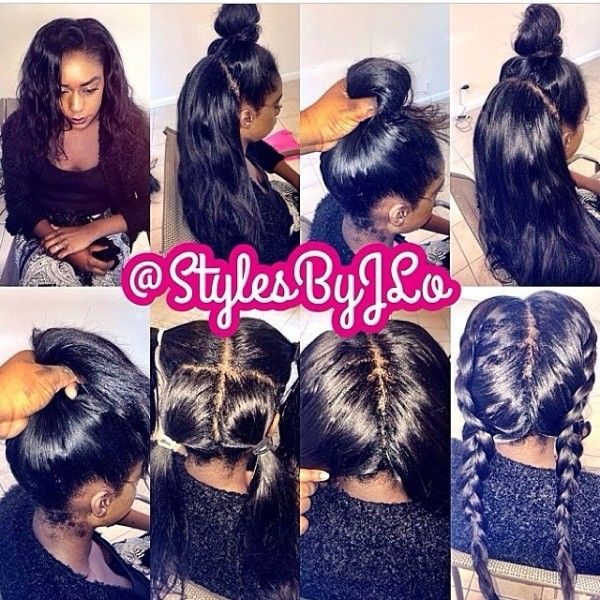 Vixen Sew in with Side Part