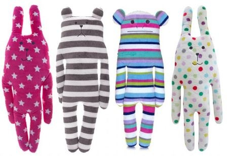 Cheeky Charlie Plush Cushion Toys from local Remuera mum at Online Baby Gifts