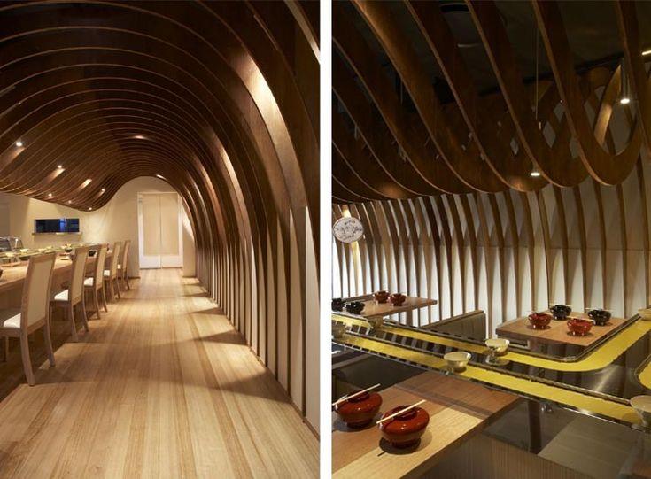 japanese style interior design cave restaurant in sydney. Black Bedroom Furniture Sets. Home Design Ideas