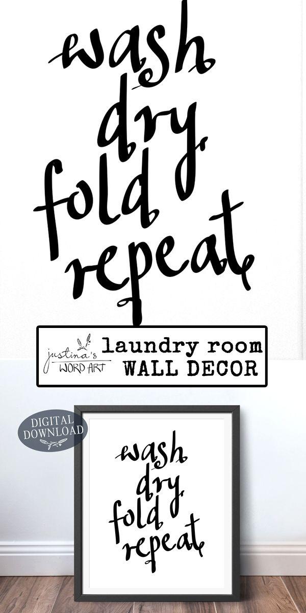 Art Art Prints Laundry Room Sign Wash Dry Fold Wall Art Print Poster For Washing Room Word Art Bortexgroup Com