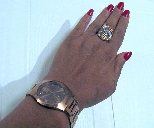 I love my FERI Rose Gold Tungsten Timepiece called Feri Mastery, goes great with my Feri Rose Gold ring, Twist my Heart