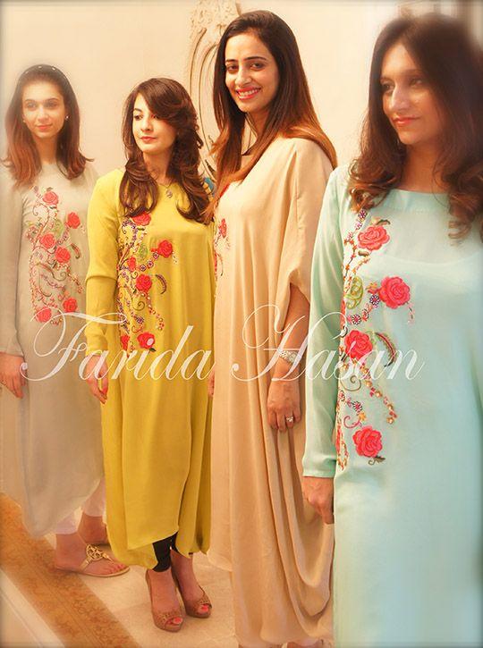 Farida Hasan Eid Exhibition - these are very pretty and unique. I love the simplicity of the design!
