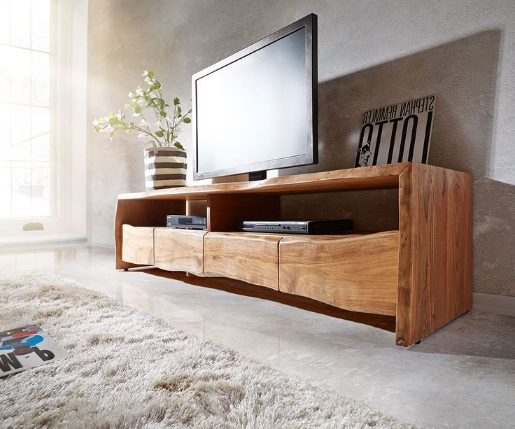 die besten 25 tv m bel holz ideen auf pinterest tv. Black Bedroom Furniture Sets. Home Design Ideas