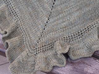 Intrecci dei sogni: Tornando dalle Cascine (very simple shawl)