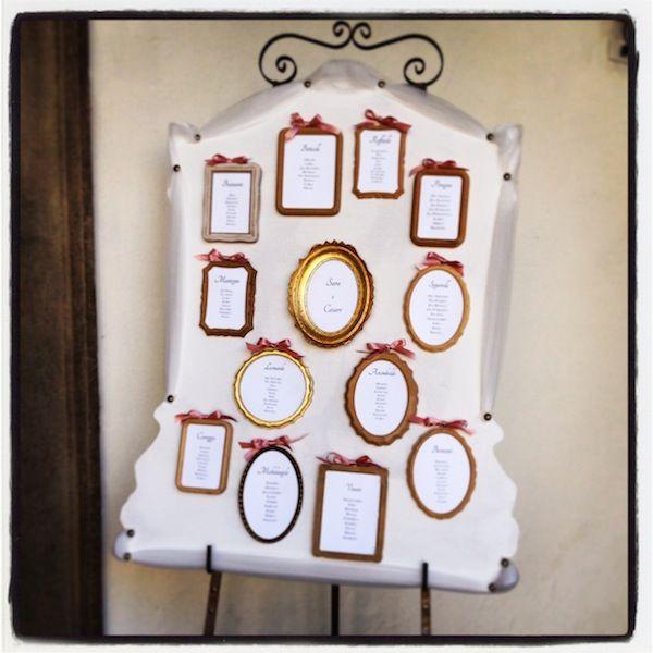 Ecco qui il risultato!Si parte da un tema e si può creare il tabella che si preferisce!#tableaudemariage #handmade #weddingplanner
