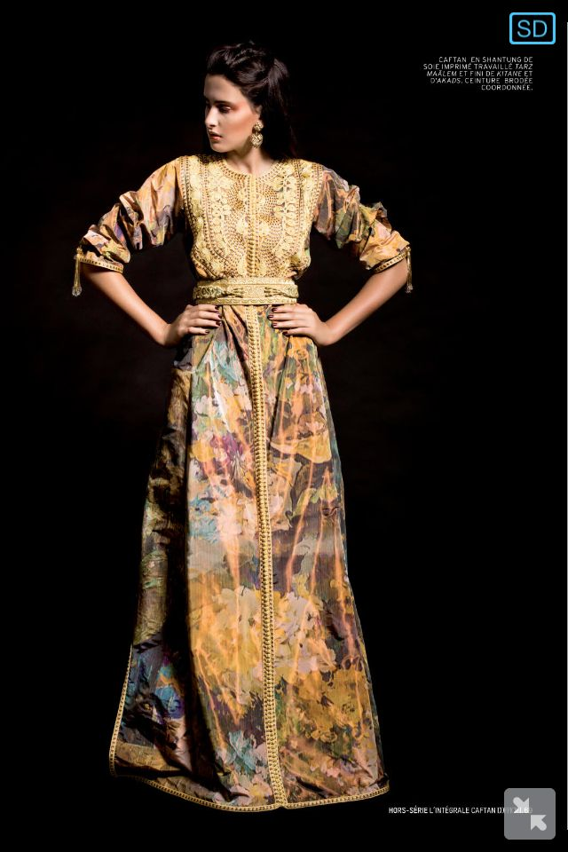 Moroccan Caftan - worn by brides and wedding guests and for special occasions like birth and engagement celebrations.