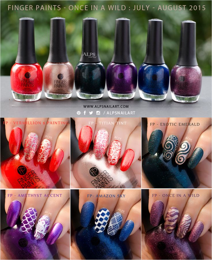 @sallybeauty's Finger Paints Once In A Wild Collection – Swatches and Review @alpsnailart #fingerpaints #fingeraintsnailcolor #sallybeauty #onceinawild