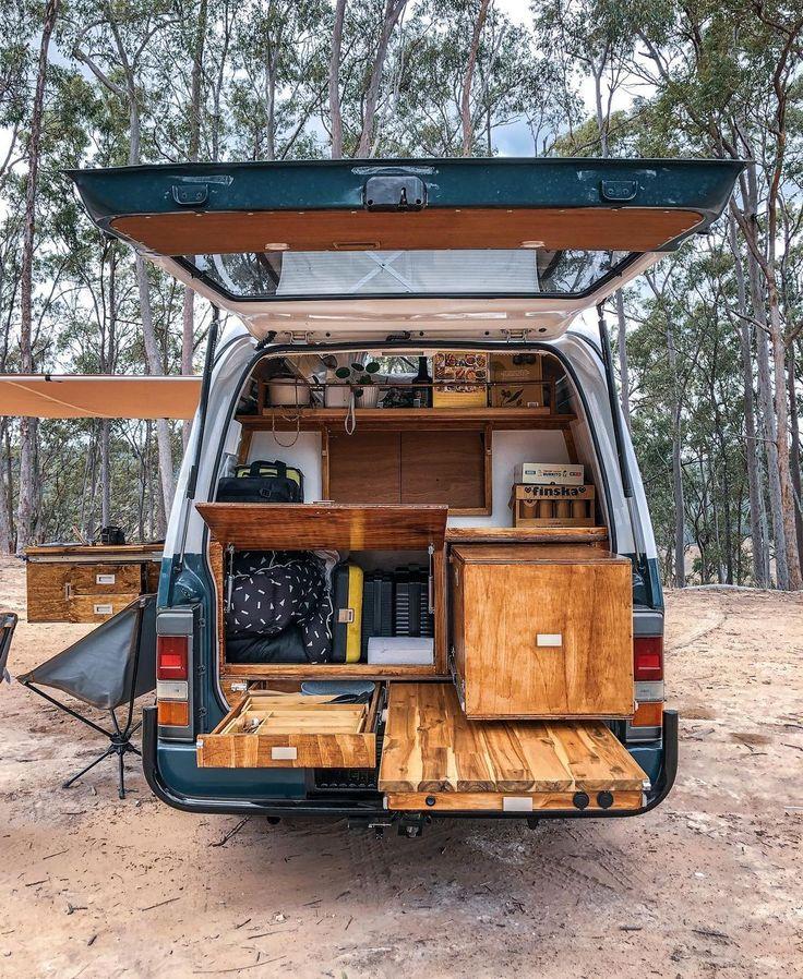 "Ventured Campers on Instagram: ""Retro cabin on wheels ✌🏼 • • • #vanlife #campervan #vintagecamper #cabin #retro #vanlifeideas #projectvanlife #vanlifemovement…"""