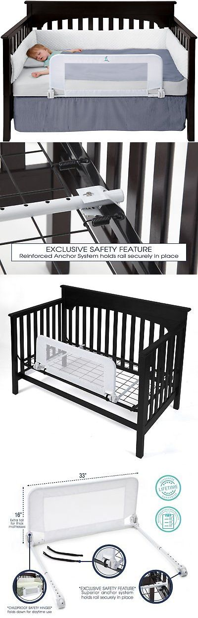 how to make a guard rail for a toddler bed