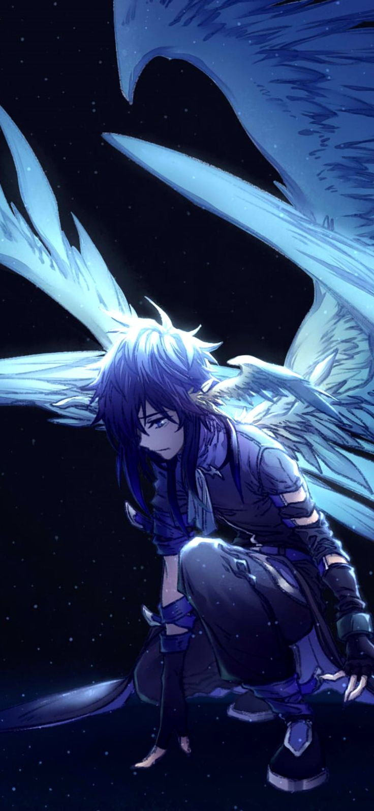 Wallpaper 4K Anime Iphone X Gallery Gambar anime, Sedih