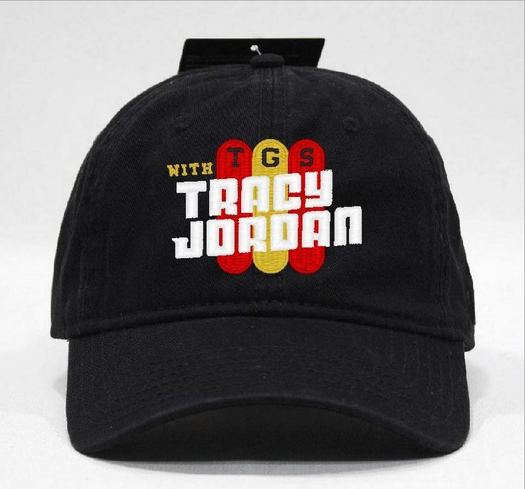 TGS with tracy jordan Cap via Hats 4 U. Click on the image to see more!