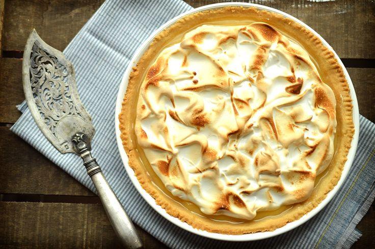 Klasický citrónový meringue páj | Classic Lemon Meringue Pie