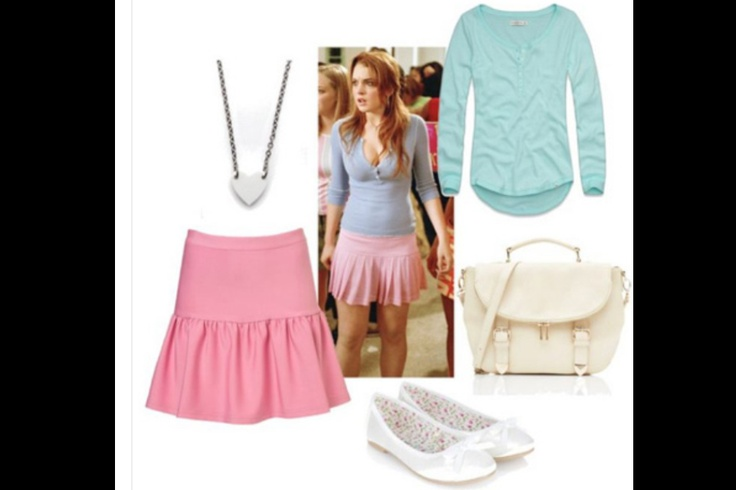 cady haron outfit inspiredmean girls  fashion