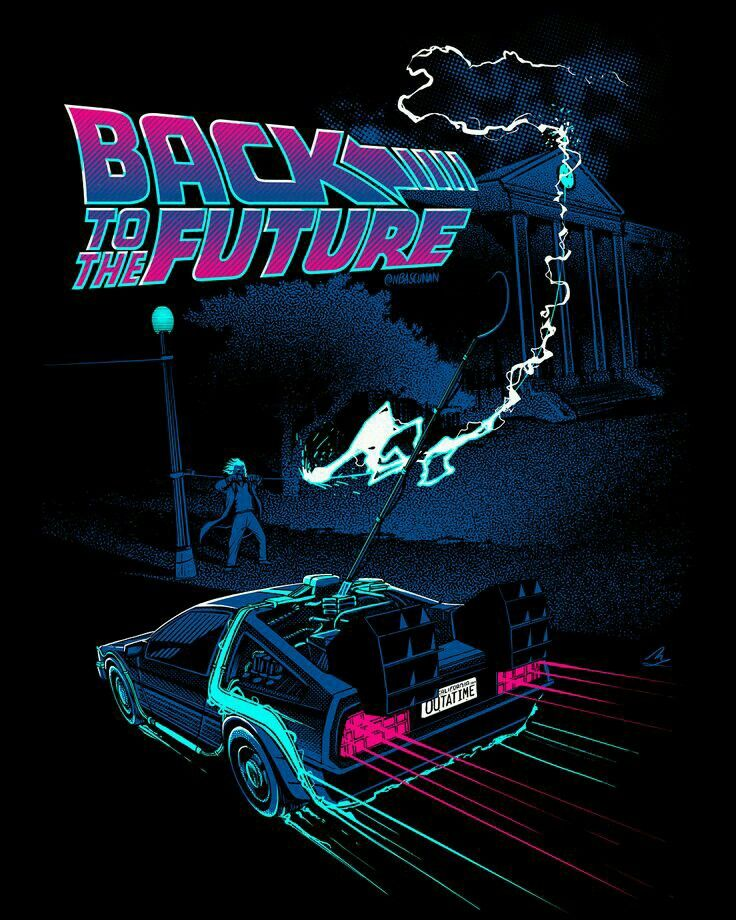 Pin By Mark Spencer On Roads Future Wallpaper Back To The Future Synthwave Art