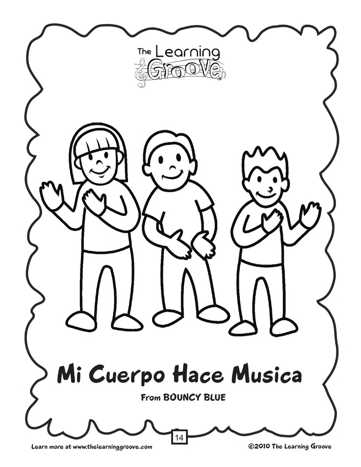 Cinco de Mayo is coming up!  This song is an awesome way to introduce some simple Spanish words to some preschoolers...and there is a free printable coloring page, too!  When you are done with this...there are over a hundred other songs just waiting to be discovered and enjoyed on this site!