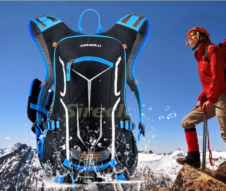 Открытый рюкзак.,спортивная сумка, ранец для пеших прогулок, велоспорта, восхождения: 50L. HUWAIJIANFENG и 18L. ANMEILU.
