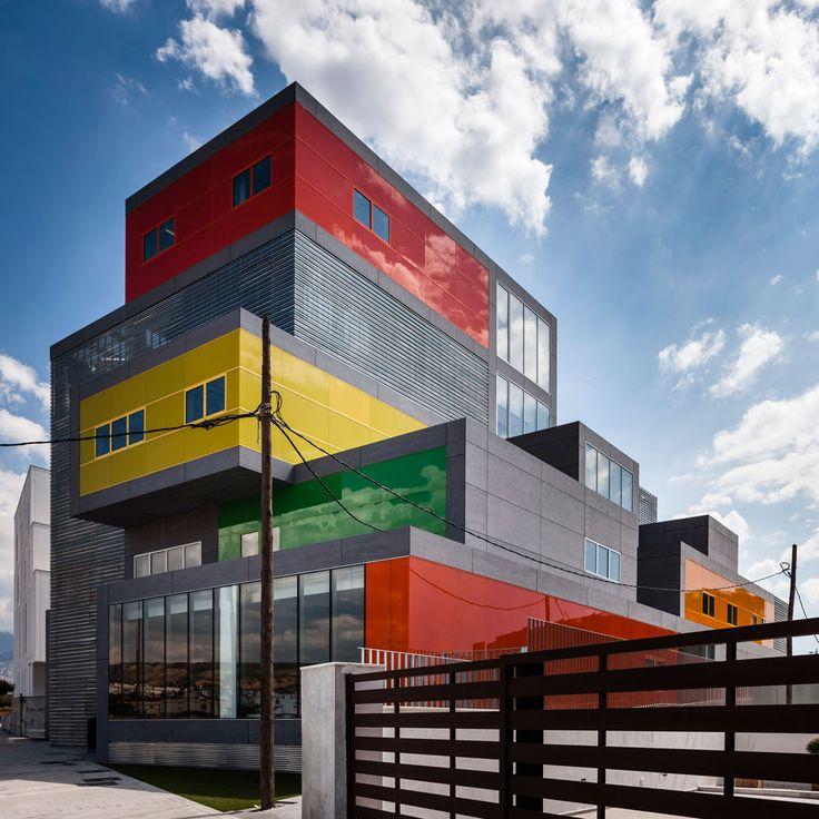 Laboratorios NB in Granada, Spain. Cayuela arquitectos. EQUITONE facade materials. www.equitone.com