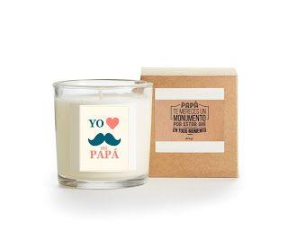 Regalo día del Padre, Aromatizada y empacada en caja, dos etiquetas ful color $15.000 Velas Casiopea  velas.casiopea@outlook.com
