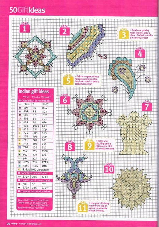 Gallery.ru / Фото #11 - Cross Stitch Crazy 162 апрель 2012 - tymannost