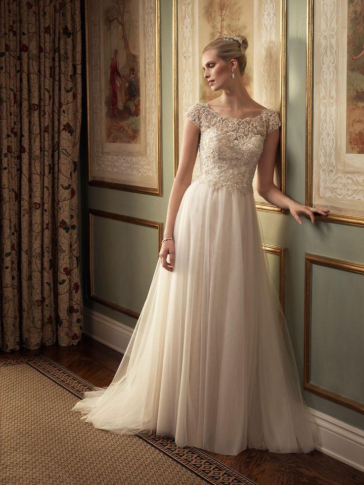 29 best Casablanca Bridal images on Pinterest   Short wedding gowns ...