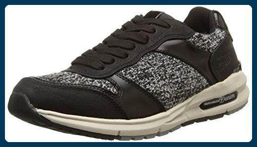 Tom Tailor Tom Tailor Damenschuhe, Damen Sneakers, Schwarz (black), 41 EU - Sneakers für frauen (*Partner-Link)