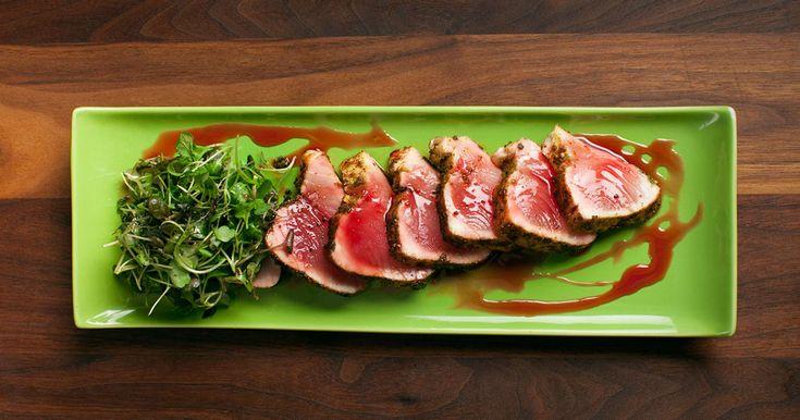<p>Une recette de tataki de thon albacore présentée par Jonathan Garnier</p>