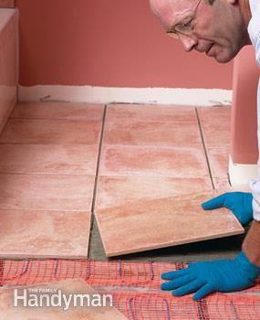 How To Install In Floor Heat