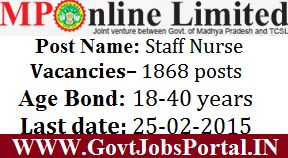 1800+ NURSING JOBS IN INDIA 2015