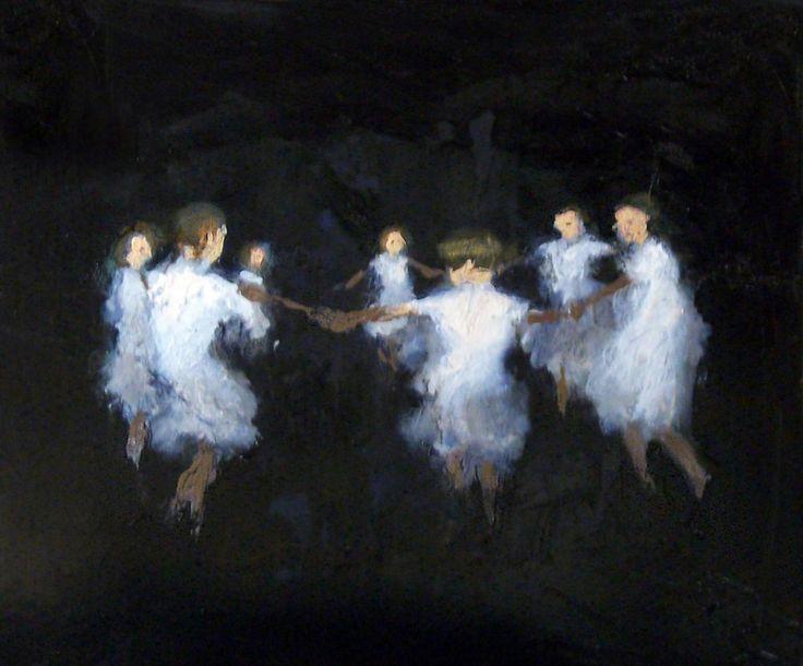 Oil Painting In Leighton Buzzard